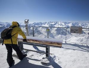 pic du midi hiver terrasse