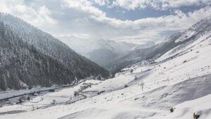 vallée barèges grand tourmalet hiver camping