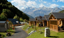 image camping et des chalets La Ribère