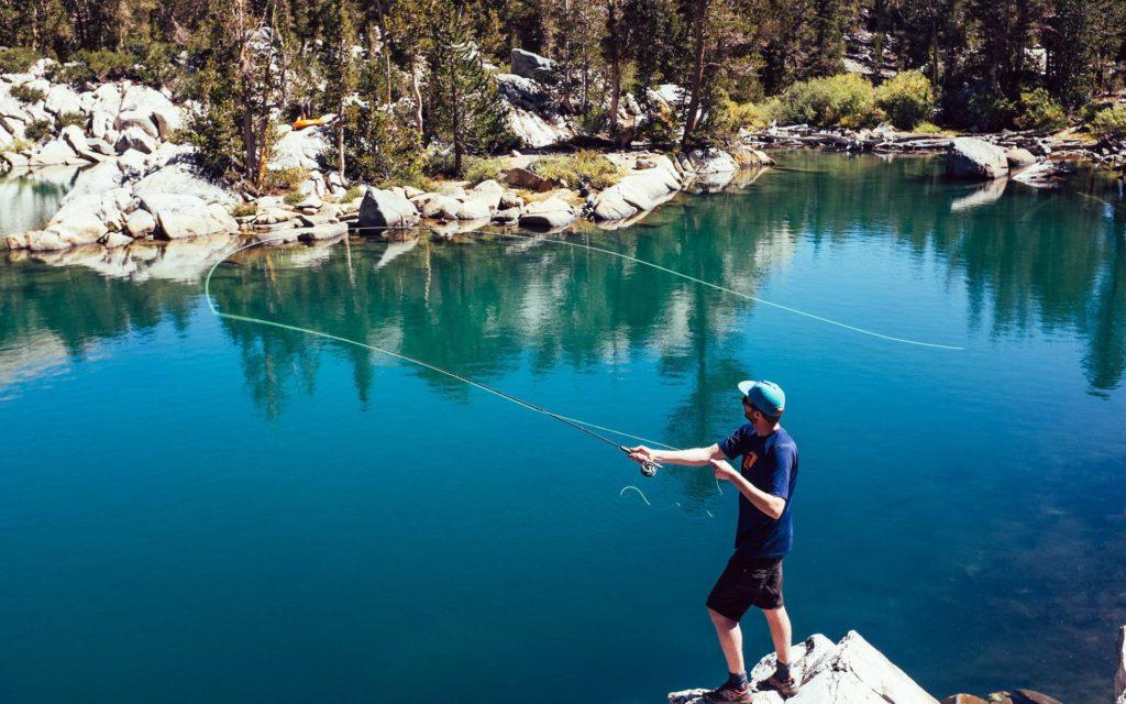 Pêche lac montagne pyrénées barèges camping