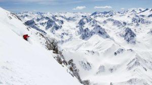 ski freeride hiver pic du midi camping barèges location